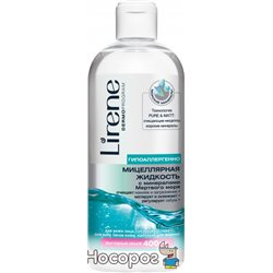 Мицеллярная жидкость для демакияжа Lirene Beauty Care с минералами 400 мл (5900717728516)
