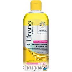 Мицеллярная жидкость для демакияжа Lirene Beauty Care с маслом 400 мл (5900717728615)