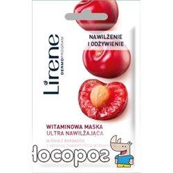 Маска для лица увлажняющая Lirene с витаминами 8 мл (5900717732117)