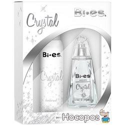 Набор для женщин Bi-es Crystal Туалетная вода + Дезодорант (5907699481446)