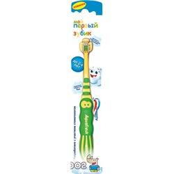 Зубная щетка Aquafresh Мой первый зубик Мягкая Зеленая (5908311864418 green)