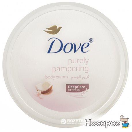 Фото Крем для лица и тела Dove Объятия нежности Кокосовое молочко и лепестки жасмина 150 мл (6281006482920)