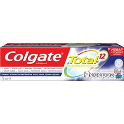 Зубная паста Colgate Total 12 Профессиональная Отбеливающая 75 мл (6920354817021)