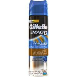 Гель для гоління Gillette Mach3 Close & Smooth Для гладкого і м'якого гоління 200 мл (7702018088485)
