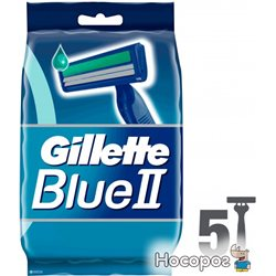 Бритвы одноразовые Gillette Blue 2 5 шт (7702018849031)