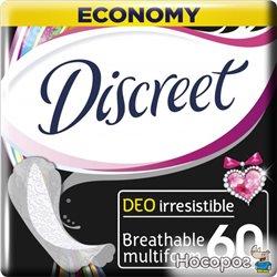 Ежедневные гигиенические прокладки Discreet Deo IrresisMultiform 60 шт (8001090161994)