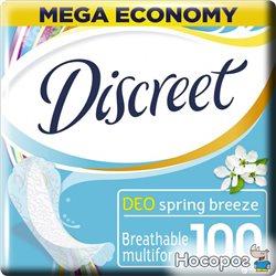 Ежедневные гигиенические прокладки Discreet Deo Spring Breeze 100 шт (8001090162113)