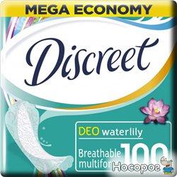 Ежедневные гигиенические прокладки Discreet Water Lily 100 шт (8001090162274)