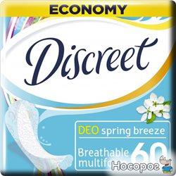 Ежедневные гигиенические прокладки Discreet Spring Breeze 60 шт (8001090170316)