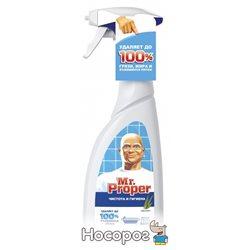 Универсальный чистящий спрей с отбеливателем Mr. Proper Чистота и гигиена Эвкалипт 500 мл (8001090628633)