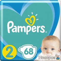 Підгузки Pampers New Baby Розмір 2 (4-8 кг) 68 шт (8001090949653)