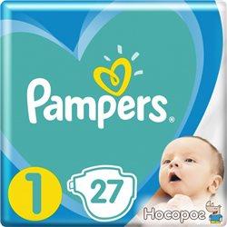 Підгузки Pampers New Baby Розмір 1 (2-5 кг) 27 шт (8001090910080)