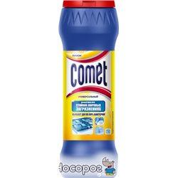 Чистящий порошок с дезинфицирующими свойствами Comet с хлоринолом Лимон 475 г (8001480024724)