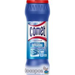 Чистящий порошок с дезинфицирующими свойствами Comet с хлоринолом Океан 475 г (8001480024731)