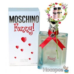 Туалетная вода MOSCHINO FUNNY EDT SPRAY 100ML (8011003991617)