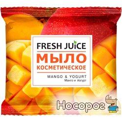 Мыло косметическое Fresh Juice Mango & Yogurt 75 г (8588006034332)