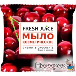 Мыло косметическое Fresh Juice Cherry & Chocolate 75 г (8588006034363)