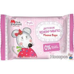 Крем-мыло Pink Elephant Мышка Варя 90 г (8588006037470)