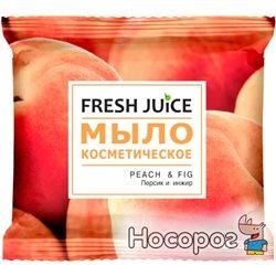 Мыло косметическое Fresh Juice Peach & Fig 75 г (8588006037500)