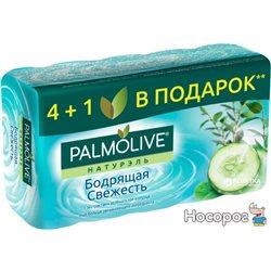 Мыло Palmolive Натурель Бодрящая свежесть 4+1 в подарок 5 x 70 г (8693495034555)