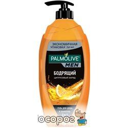 Гель для душа и шампунь Palmolive Цитрусовый заряд 750 мл (8693495050180)