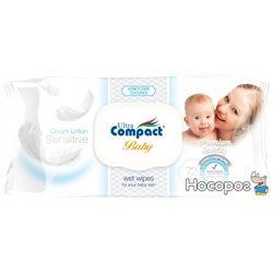 Детские влажные салфетки Ultra Compact 72 шт с клапаном (8697420531522)