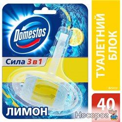 Туалетный блок для унитаза Domestos Лимон 40 г (8710908732270)