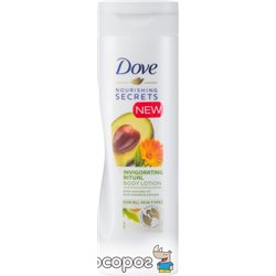 Лосьон для тела Dove Пробуждающий с маслом авокадо и экстрактом календулы 250 мл (8710908777110)