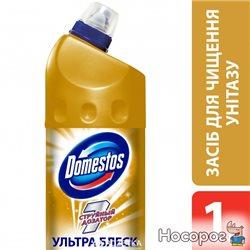 Средство для чистки унитаза Domestos Ультра Блеск 1 л (8714100707876)