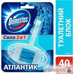 Туалетный блок для унитаза Domestos Атлантик 40 г (8717163006085)