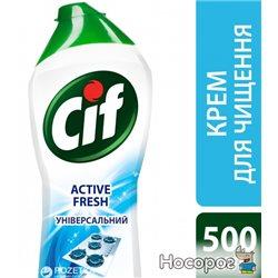 Крем для чистки Cif Актив Фреш 500 мл (8717163044711)