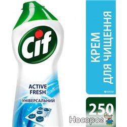 Крем для чистки Cif Актив Фреш 250 мл (8717163044797)