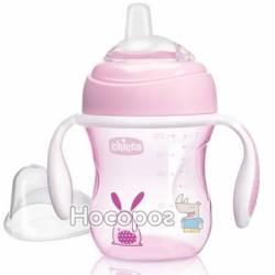 """Чашка пластикова для пиття """"Transition Cup"""" 200мл. від 4 місяців (рожева)"""