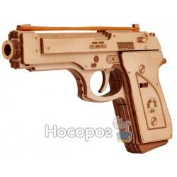 """3D-конструктор Wood Trick """"Пістолет"""" Євро"""