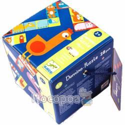 DJECO Игра детское домино Сложи животное DJ08165