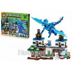 Конструктор Lepin Нападение синего дракона 18020