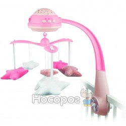 Canpol babies Карусель муз електр з проектором - рожева75/100_pin