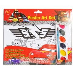 Набор для раскрашивания с красками OBL580272