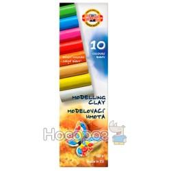 Пластилин KOH-I-NOOR «Бабочка» 10 цв.