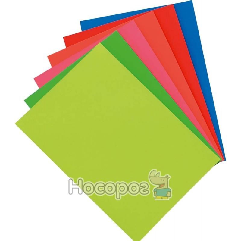 Фото Бумага цветная неоновая 1 Вересня А4, 10 л. (950259)