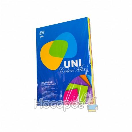 "Бумага цветная - Intensive Mix ""UNI Color"""