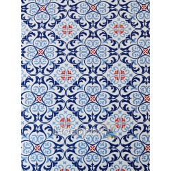 """Папір з малюнком """"Орнаменти"""", А4(21х29,7см), Блакитний, 300г/м2, Heyda"""