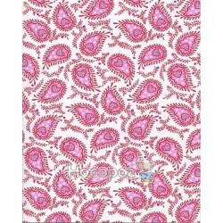 """Бумага с рисунком """"Пейсли дизайн"""" Heyda розовый"""