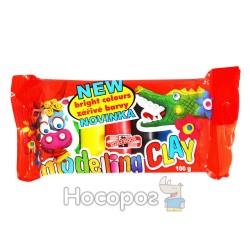 Пластилін KOH-I-NOOR 5 кольорів