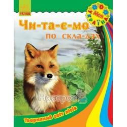 """Моя Украина - Читаем по слогам: Животный мир лесов """"Ранок"""" (укр.)"""