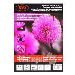 Глянцевая фотобумага EVO GP-180-A4/100