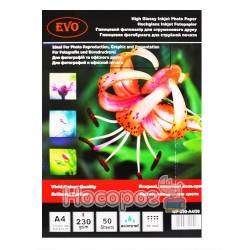 Глянцевий фотопапір EVO GP-230-A4/50