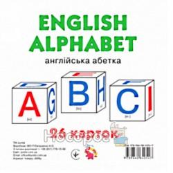 """Картки міні Англійська Абетка """"Jumbi"""" (англ.)"""