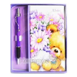 Блокнот з ручкою 0204