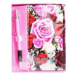 Блокнот с ручкой 0215
